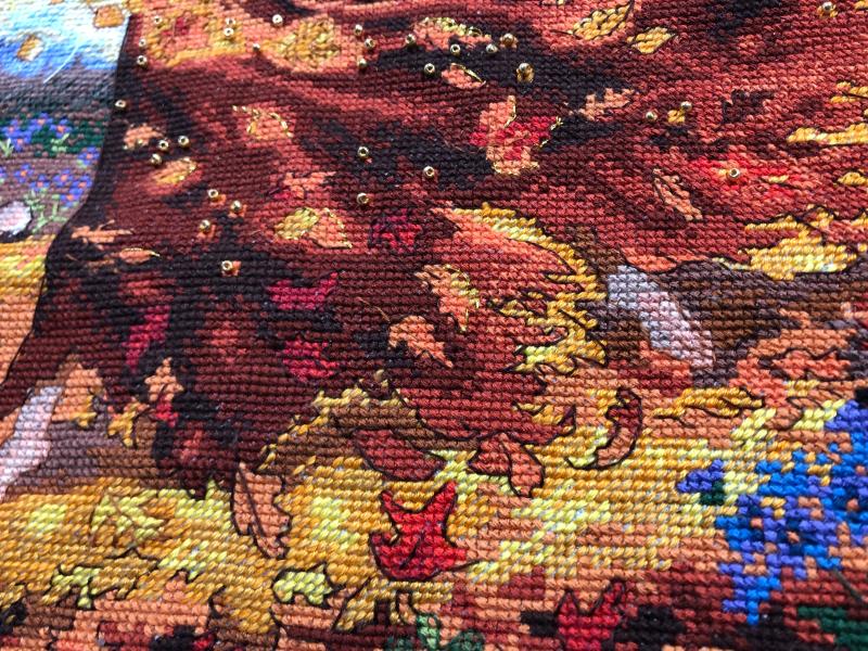 Fall Fairy HD-skirt detail