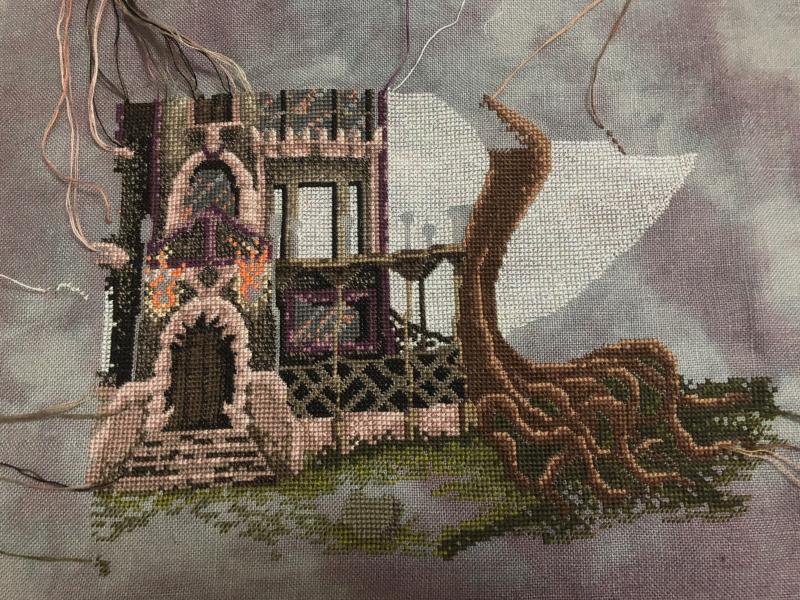 Spooky House WIP 6-16-18