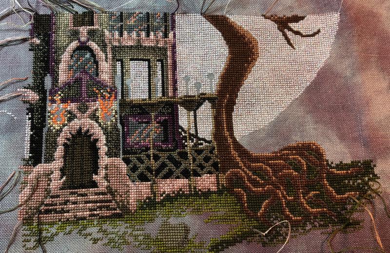 Spooky House WIP 7-14-18