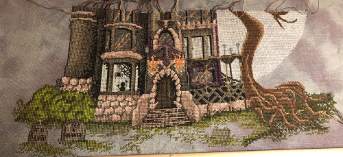 Spooky House WIP 10-28-18