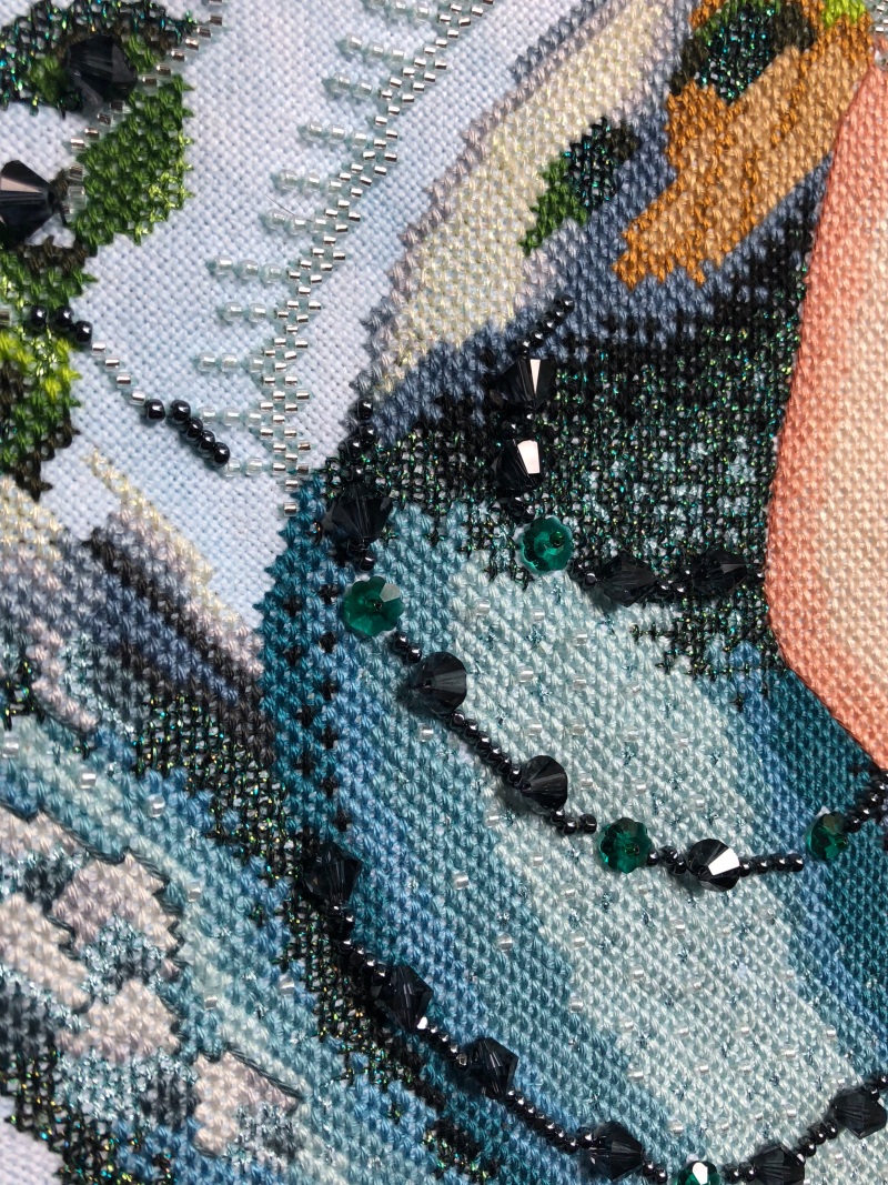 Enchanted Mermaid HD-belt detail