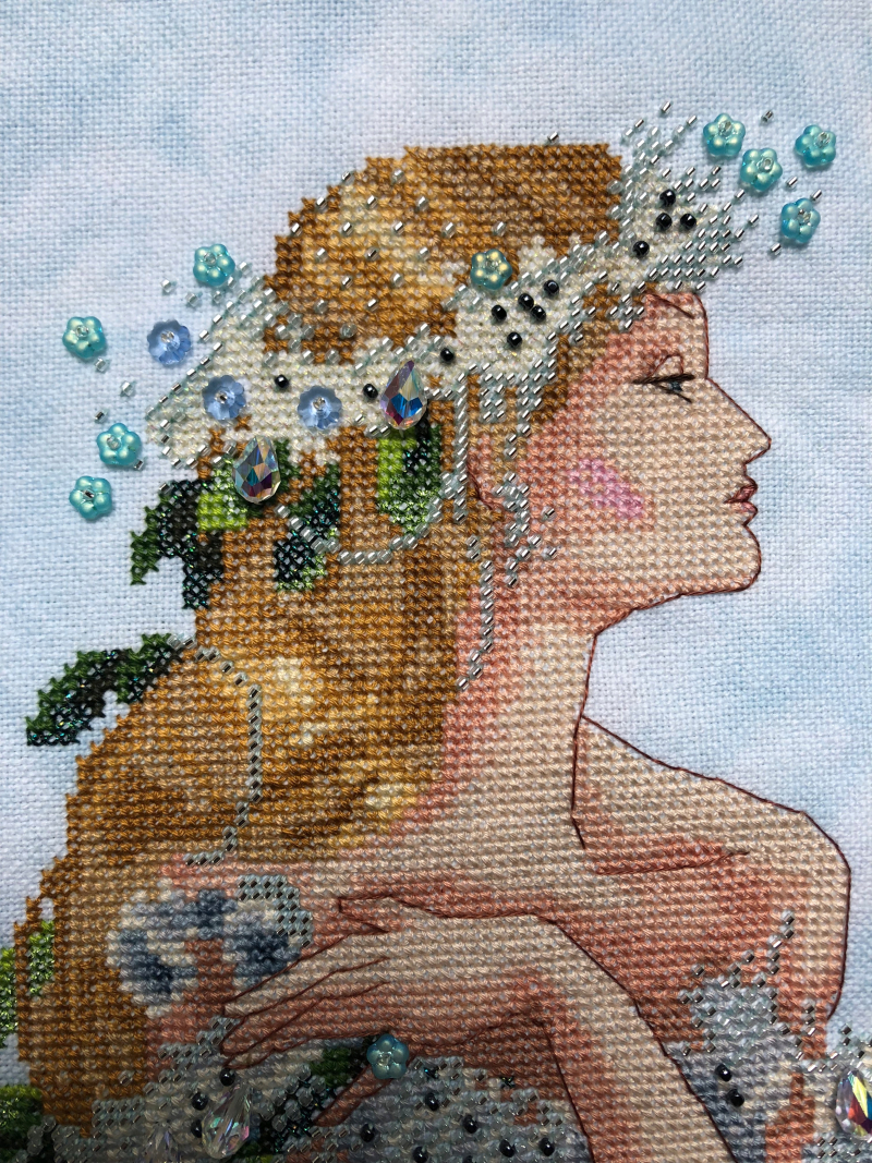 Enchanted Mermaid HD-face detail