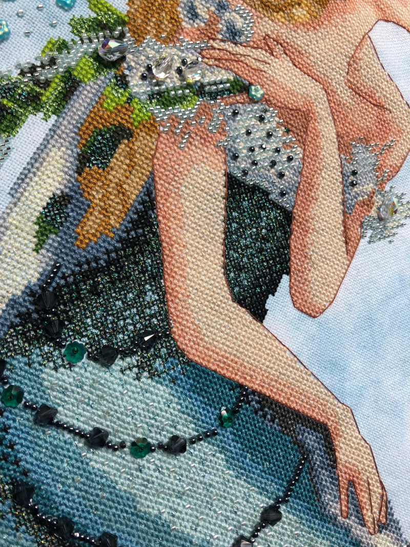Enchanted Mermaid HD-bust detail