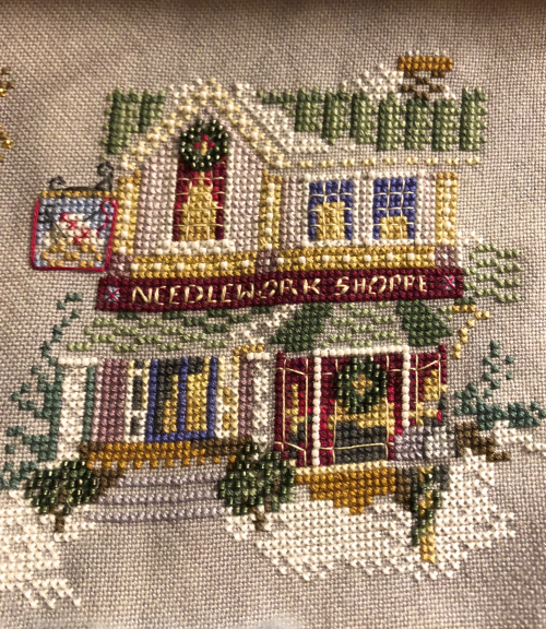 Needlework Shop WIP 8-25-18