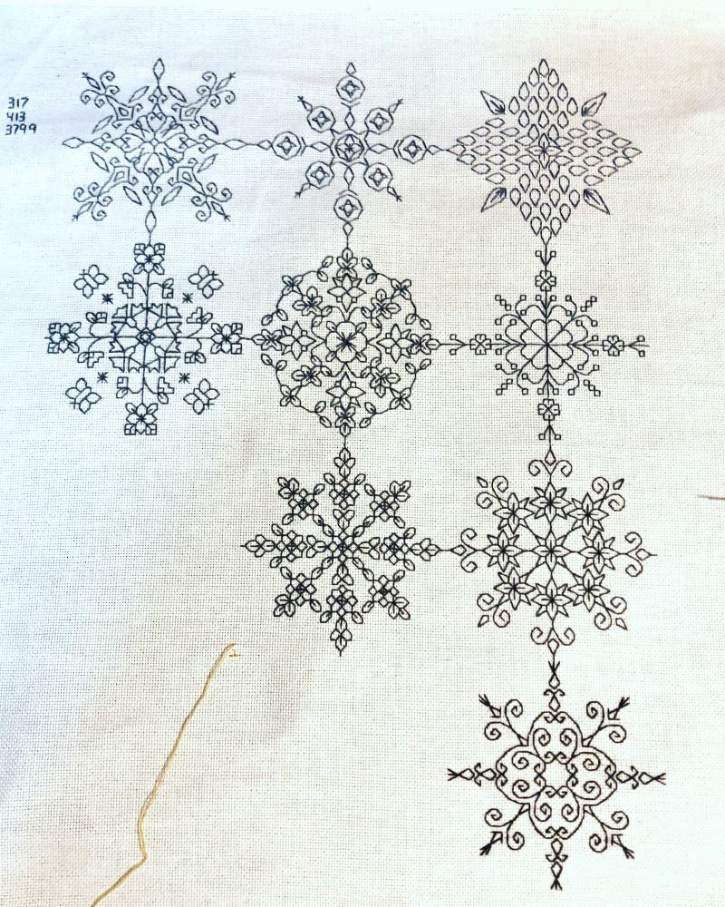 Mini Mandala SAL 9-15-18