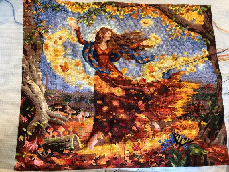 Fall Fairy WIP 10-28-18
