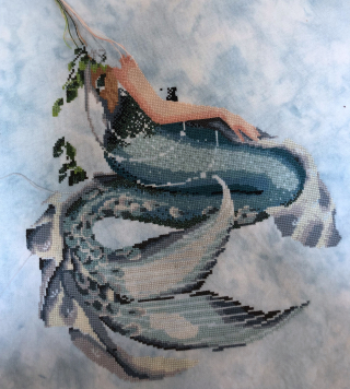 Enchanted Mermaid WIP 6-10-18v2