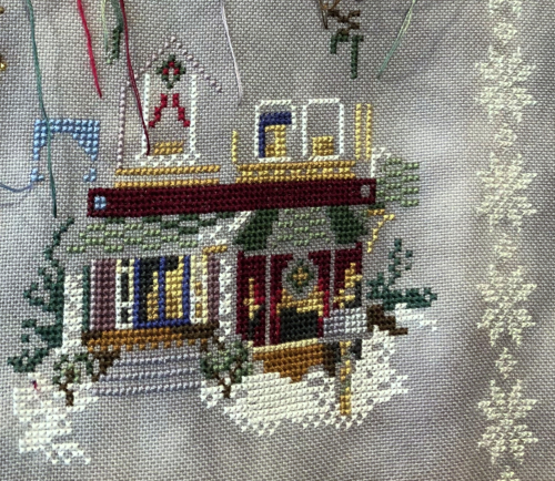 Mill Hill Needlework Shop WIP 7-26-18