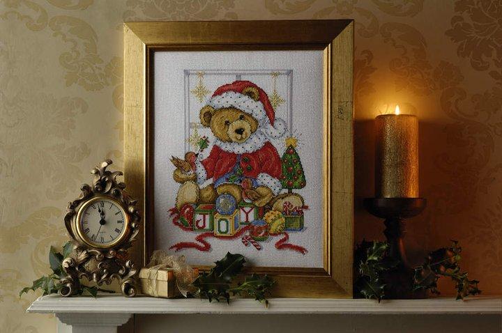 Christmas teddy model