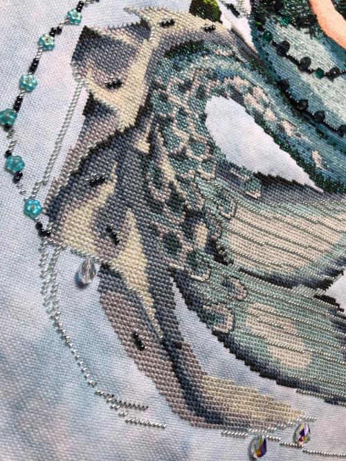 Enchanted Mermaid HD-tail detail