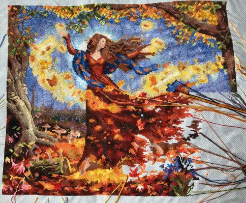 Fall Fairy wip 9-10-18