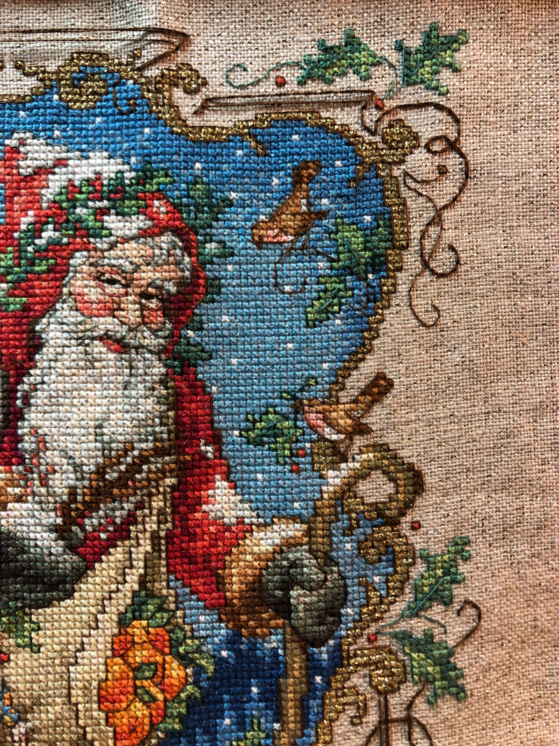 Charmed Santa WIP 1-28-19