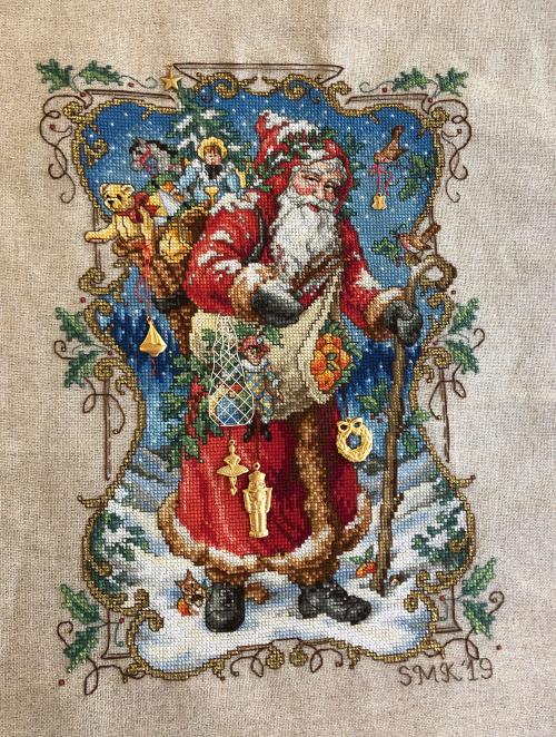 Charmed Santa HD