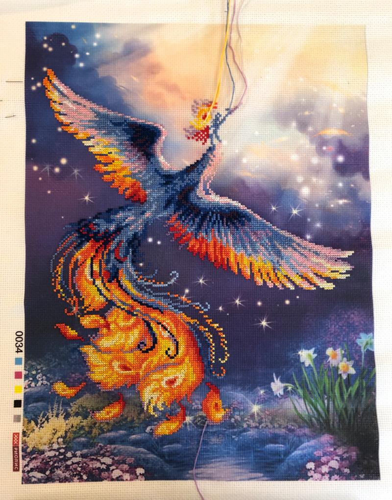 Bird of Happiness WIP 2-15-19