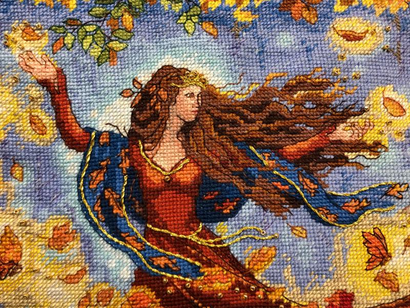 Fall Fairy HD-face detail