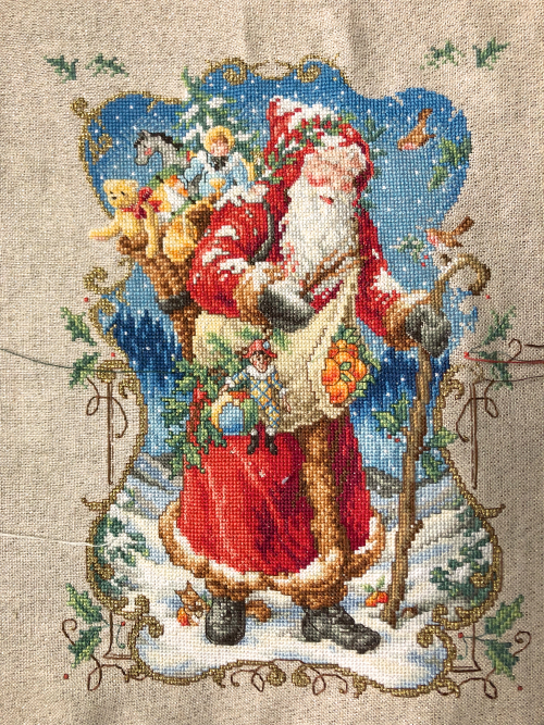 Charmed Santa WIP 12-30-18