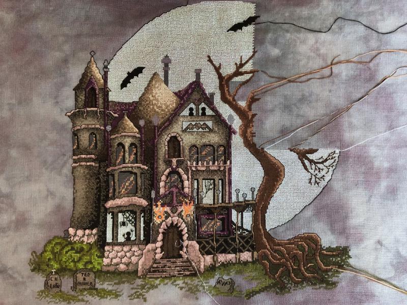 Spooky House WIP 6-29-19