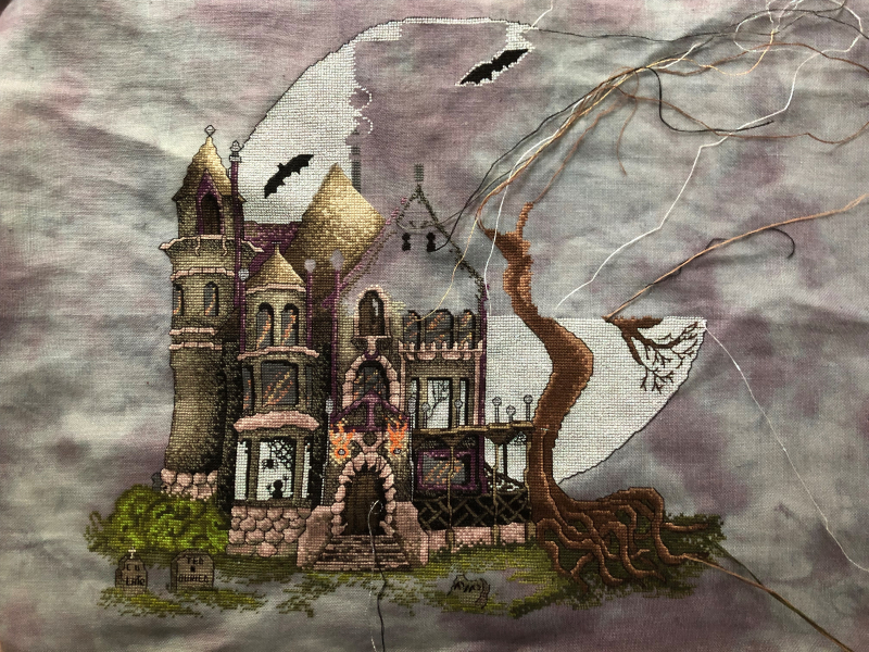 Spooky House WIP 4-27-19