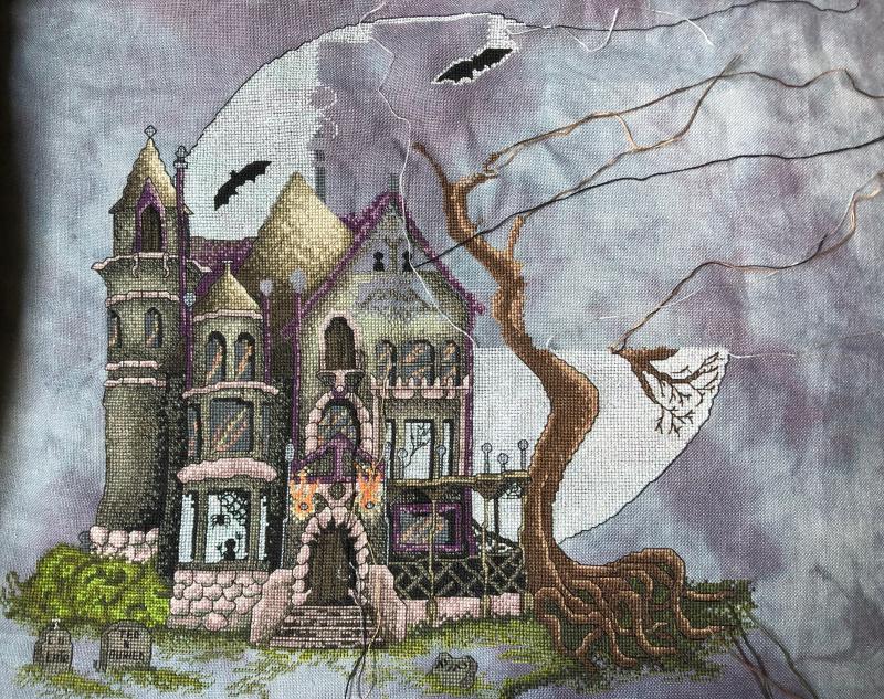 Spooky House WIP 5-26-19