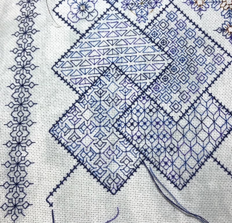 Save the Stitches WIP 1-26-20