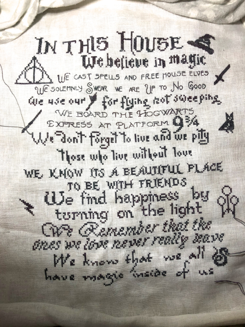 We Do Harry Potter WIP 1-5-20