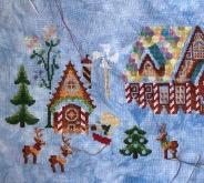 Gingerbread Grove WIP 12-27-19