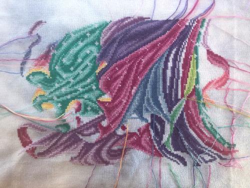 Rainbow Fairy WIP 11-27-19