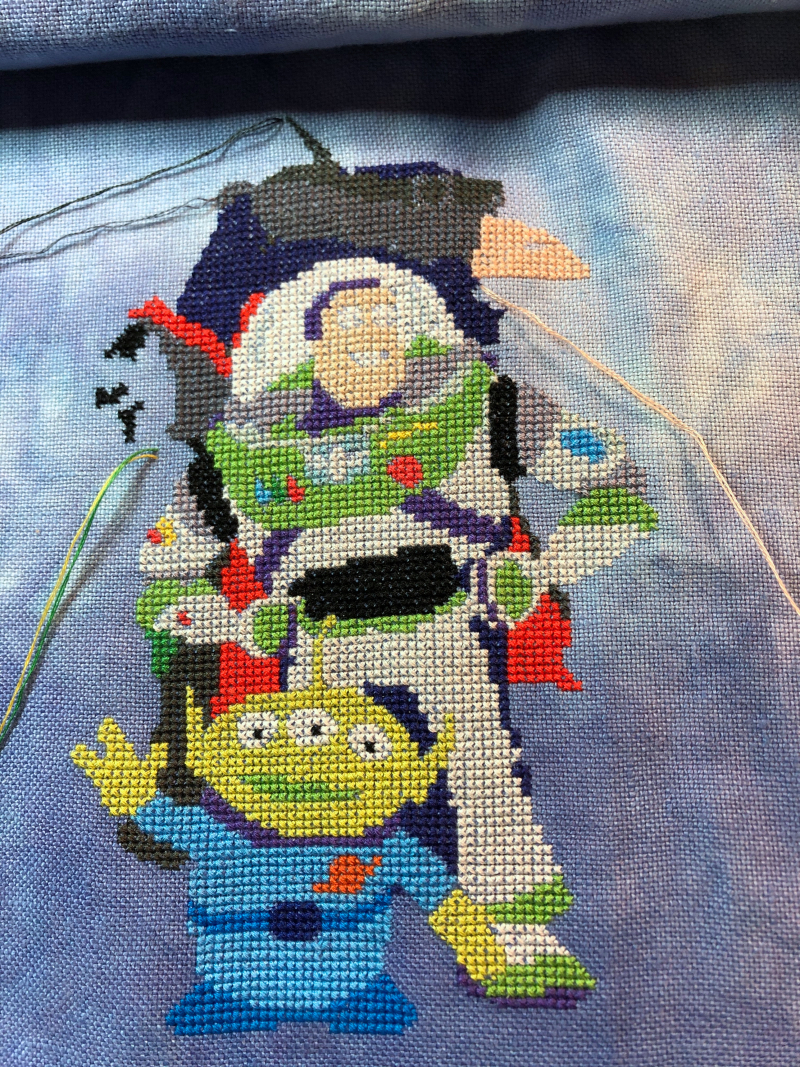 Toy Story Cast wip 3-17-20
