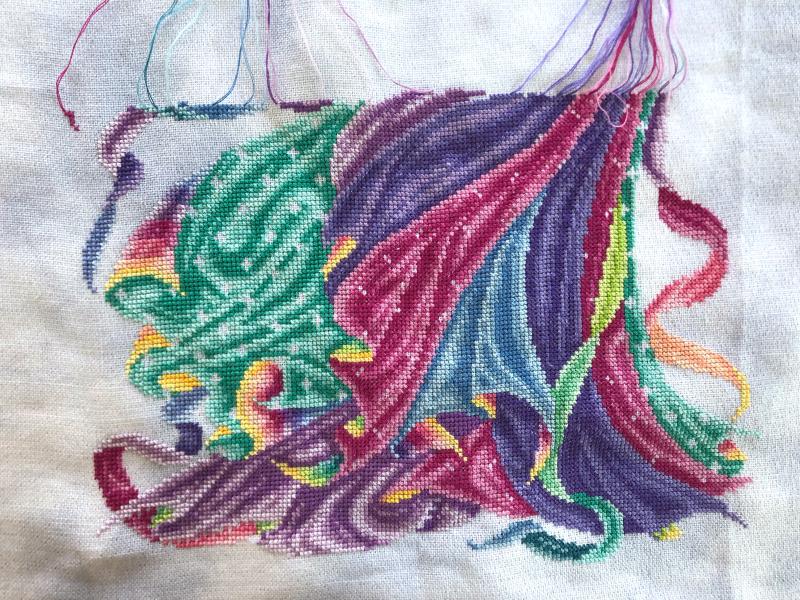 Rainbow Fairy wip 2-22-20