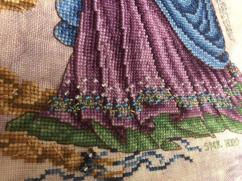 Rapunzel HD-lower detail