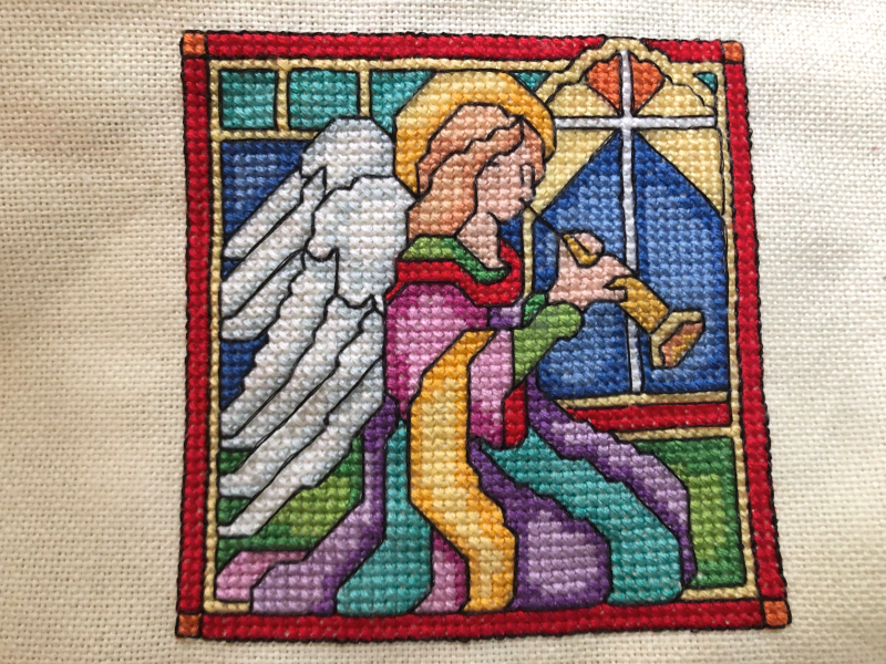 Stained Glass Angel HD