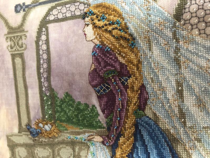 Rapunzel HD-upper detail