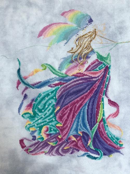 Fairy Rainbow WIP 7-22-20