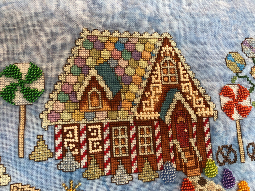 Gingerbread Grove HD-house
