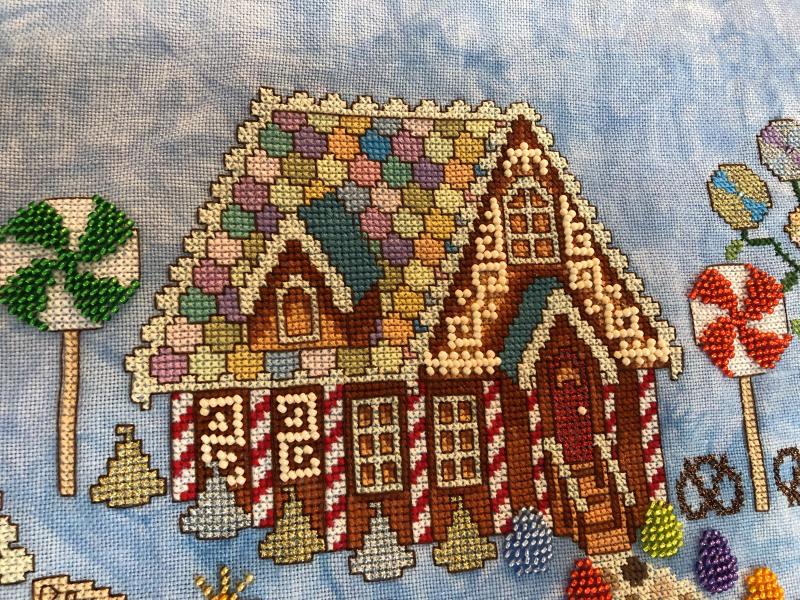 Gingerbread Grove HD-house