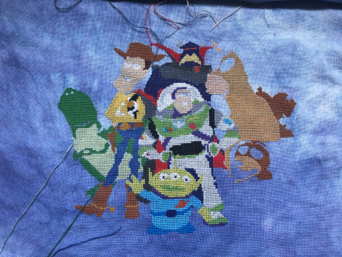 Toy Story Cast WIP 8-25-20