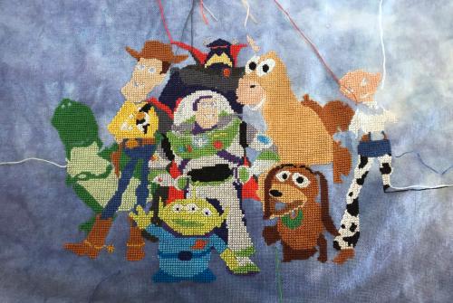 Toy Story Cast  WIP 9-20-20
