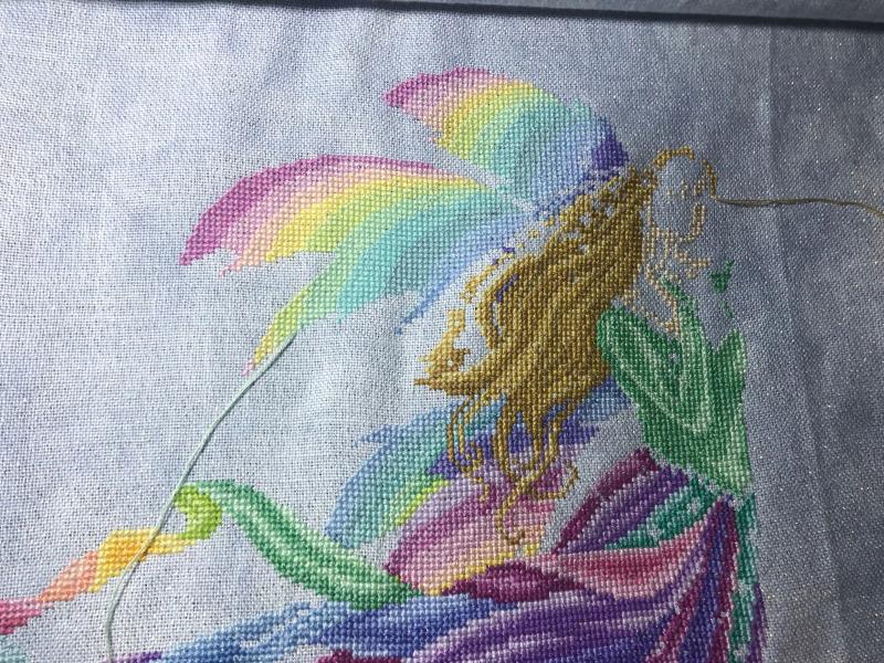 Fairy Rainbow WIP 9-27-20