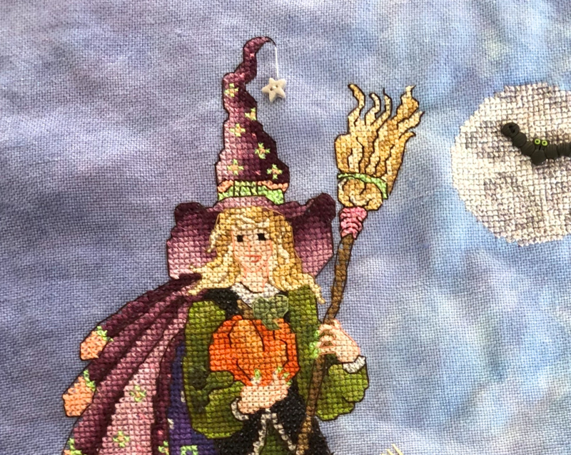 Harvest Witch HD -face