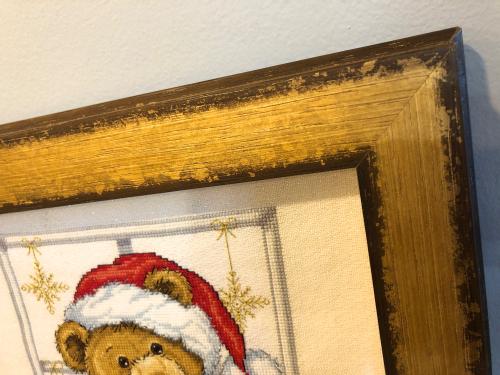Joyful Teddy framing HD-detail