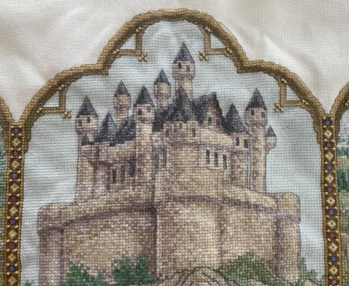 Fantasy Triptych HD- castle