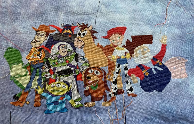 Toy Story Cast WIP 2-28-21