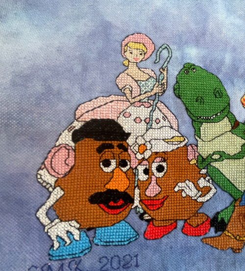 Toy Story Cast HD-Potato heads