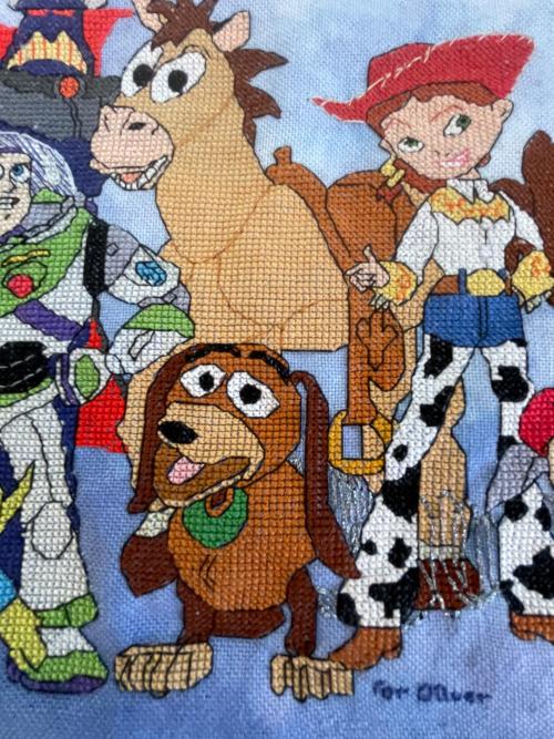 Toy Story Cast HD-Slinky