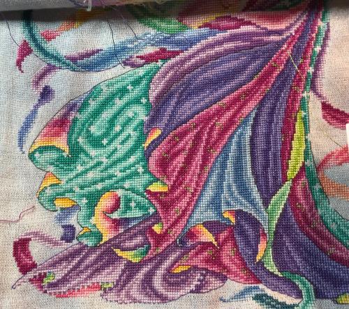 Rainbow Fairy WIP 10-8-20