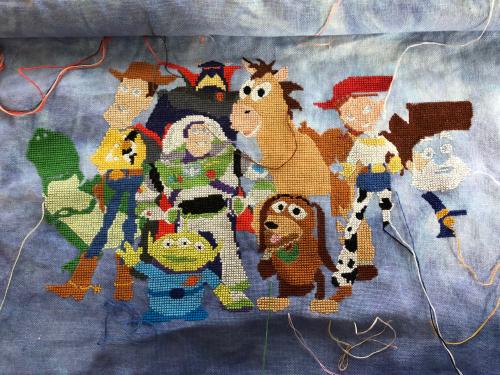 Toy Story Cast WIP 11-30-20