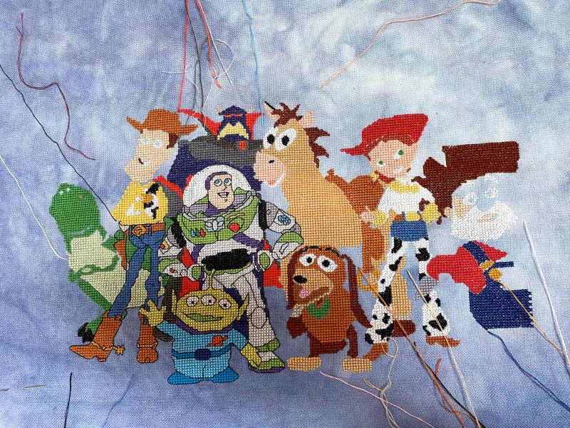 Toy Story Cast WIP 1-31-21