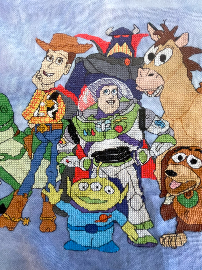 Toy Story Cast HD-Woody