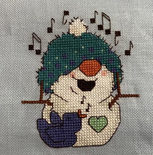 Snowman Friends Ornie HD