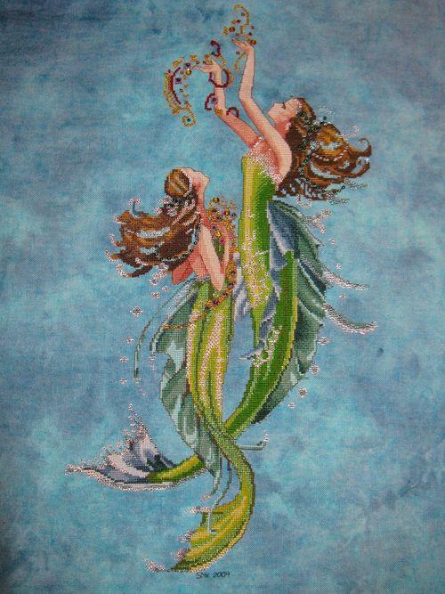 Mermaids of the Deep Blue